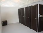 Esempio 4 cabine bagni mobili allestiti in evento matrimonio