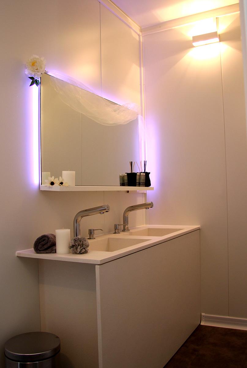 Silver monolight noleggio bagni di lusso per eventi - Asciugamani bagno di lusso ...