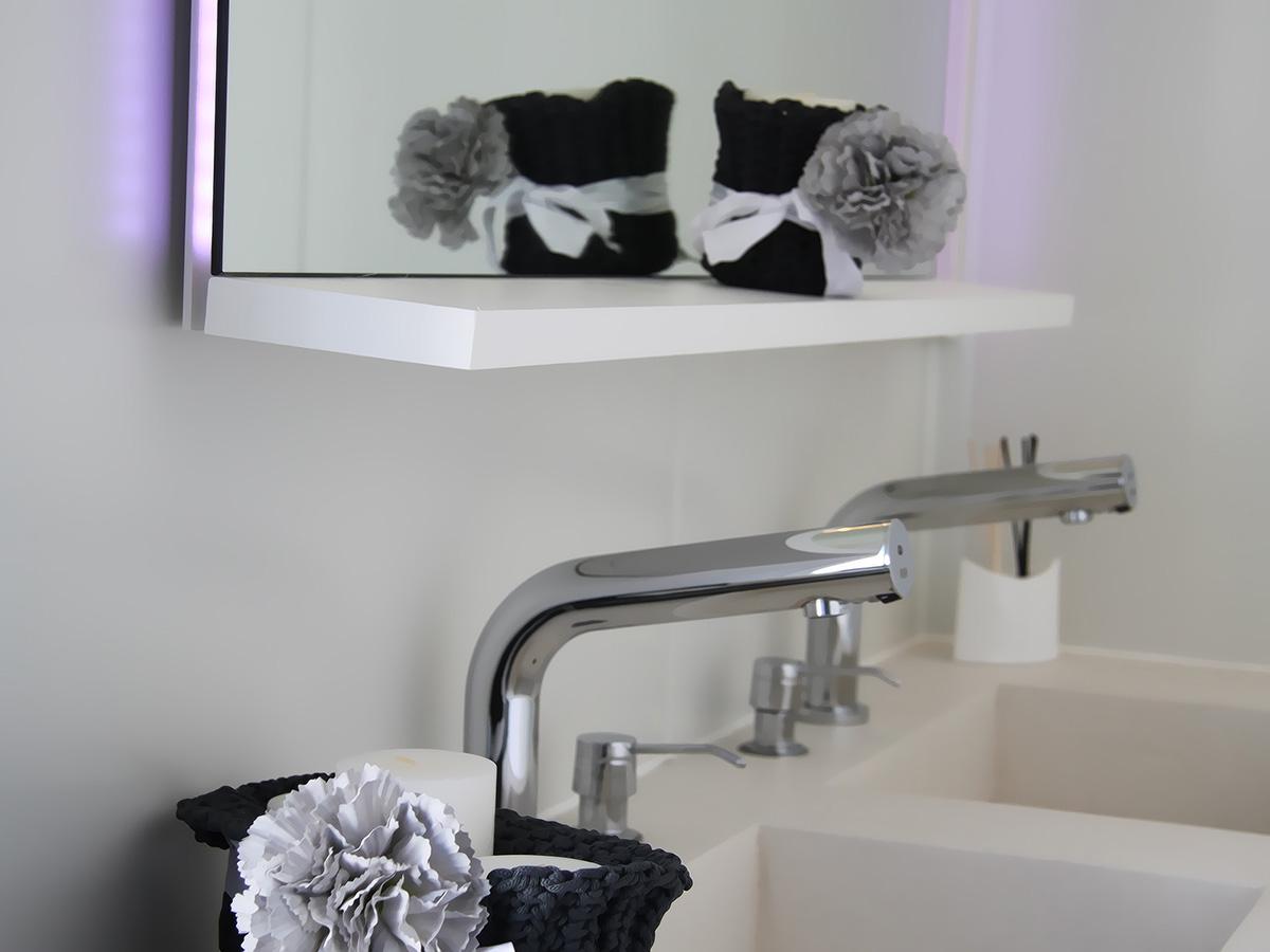 Bagno grigio perla - Accessori bagno verona ...