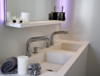 Ampio antibagno per il noleggio del bagno Monolight