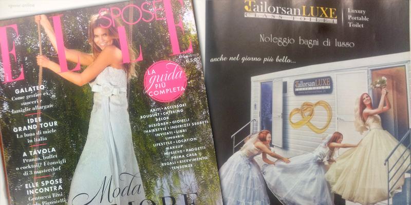 Articolo su rivista Elle Spose