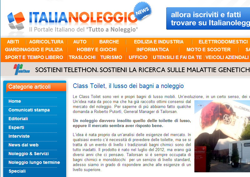 Intervista su ItaliaNoleggio.it