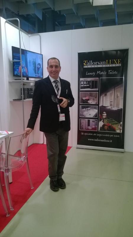 Il nostro Mauro Valiani alla fiera BTC di Firenze
