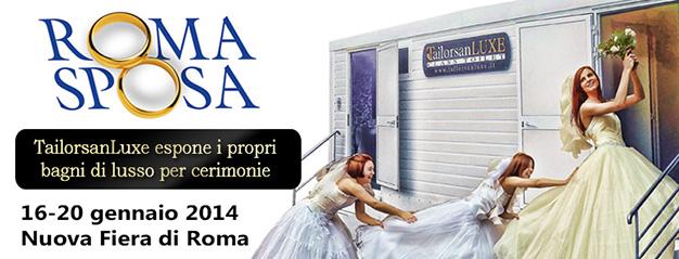 TailorsanLuxe a Roma Sposa 2014