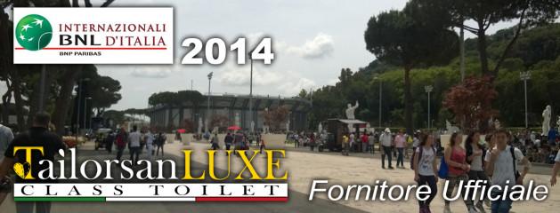 Noleggio Toilet agli Internazionali di Tennis BNL di Roma